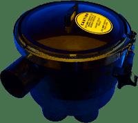 "A&A 6 Port Low Profile 1.5"" Actuator T-Valve Complete 540218 (ANA-201-5492)"