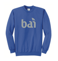 Royal Crewneck with BAI logo