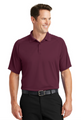 Dry Zone Raglan Polo in Maroon