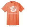 HI VIZ Orange Canada Dry t-shirt