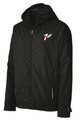 Black Rain Jacket with 7up Logo