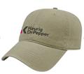 Khaki Washed Pigment Dyed Cap w/ Keurig logo