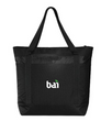 Large Black Cooler Tote with BAI logo