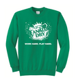 Kelly Green crewneck with Canada Dry logo