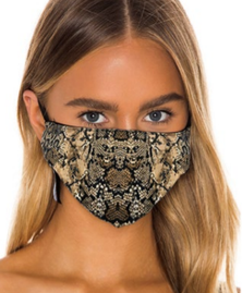 Prince Peter Brown Python Protective Mask