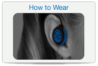 How to wear our sleeping headphones