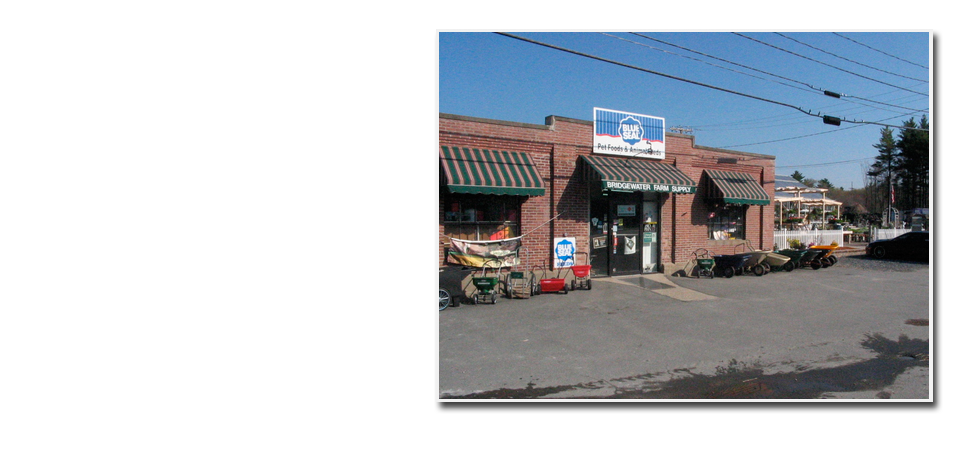 Photo of Bridgewater Farm Supply store front.