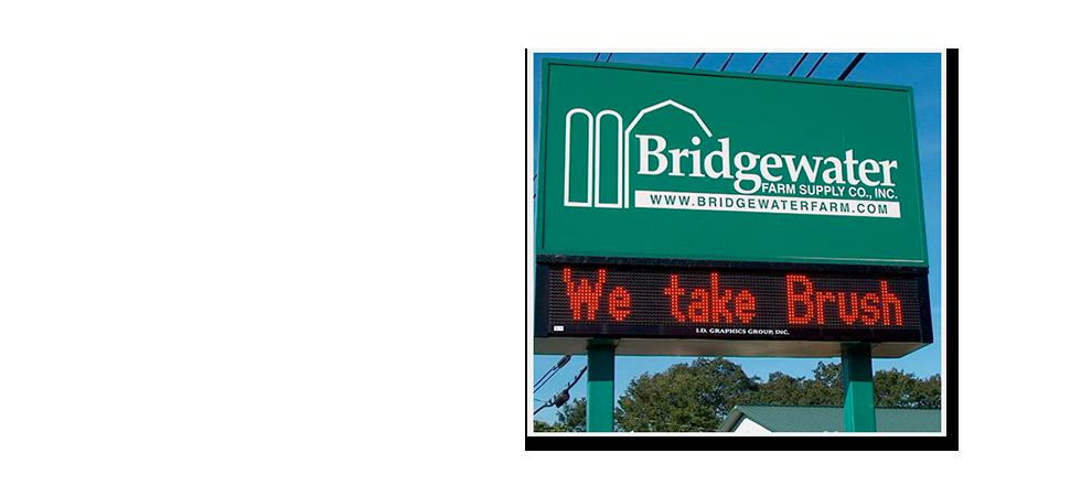 Photo of BFS digital sign.