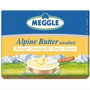 Meggle Original Bavarian Alpine Butter Unsalted 8.8 oz