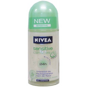 Nivea Sensitive Balm Roll-On Deodorant from Germany 1.75 fl.oz