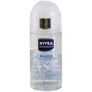 Nivea Pure Invisble Roll-On Deodorant from Germany 1.75 fl.oz.