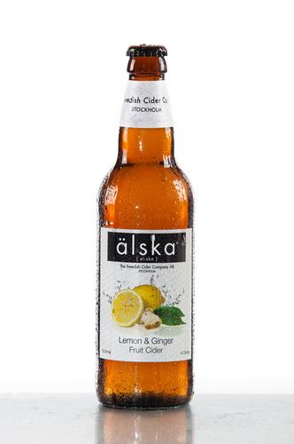 Alska Cider Lemon & Ginger