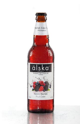 Alska Cider Nordic Berries