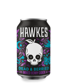 Hawkes Dead and Berried Cider (24 x 330ml Cans) BBD 2021-06-26