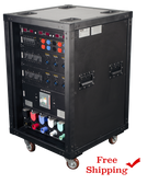 "Lex ""Presidential"" Rack, 400 Amp PowerRACK with (48) 120 VAC or 208 VAC Circuits and Metering"