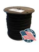 "Tie Line, 1/8"" Black Glazed, 600 feet"