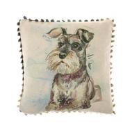 Voyage Maison Schnauzer Arthouse Mini Cushion (AH16013)