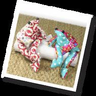 Beanbag Frog Sewing Kit (CKC-SK-020)