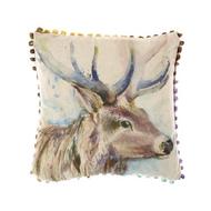 Voyage Maison Buck Stag Arthouse Mini Cushion (AH16002)