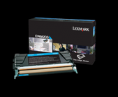 Lexmark-C748 Cyan High Yield 10k Toner Return Program SKU C748H1CG