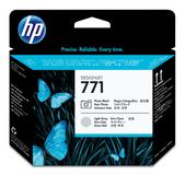 Hewlett Packard-Hp 771 Photo Black Light Grey Designjet Printhead SKU CE020A