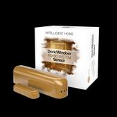 Fibaro-Fibaro Z-wave Door Sensor Light Brown SKU FGK105