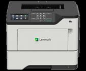 Lexmark-Lexmark Ms622de 47ppm Net Usb 4.3in Lcd A4 Mono Laser Printer 1yr Adv Exch Nbd SKU 36S0514