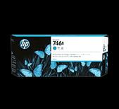 Hp-Hp 746b 300ml Cyan Designjet Ink - Z6 / Z9 SKU 3WX36A
