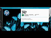 Hp-Hp 747 300-ml Chromatic Green Designjet Ink Cartridge - Z9+ Series SKU P2V84A