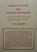 Judah's Sceptre And Joseph's Birthright, by Rev. J.H. Allen