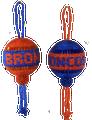 Denver Broncos or Boise State Christmas ball.