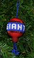 Giants hanging on a Christmas Tree!!
