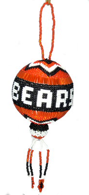 A beautiful Chicago Bears Christmas Ball