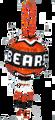 A beautiful Chicago Bears Christmas Ball