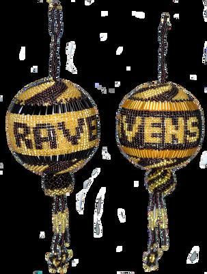 Baltimore Ravens Christmas Ball
