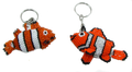 A great design in color in this clown fish!