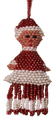 A fringed Mrs. Claus