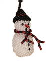 Our fat snowman