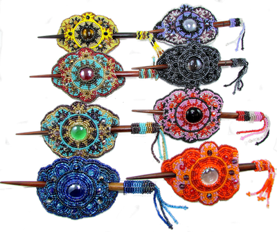 Our most popular hair barrette come in so many colors!