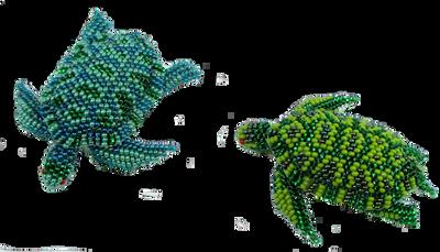 The perfect turtle barrette.