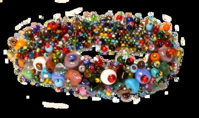 BB-02 Multi Color Magnetic Clasp Bracelet