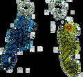 Small Seahorse Key Chain