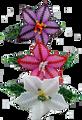 Large Flower Barrette