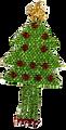 A flat tree.