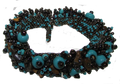 Brown & Turquoise Magnetic Clasp Bracelet