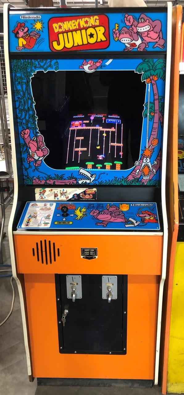 Nintendo Donkey Kong Junior Arcade Game Arcade Adventures