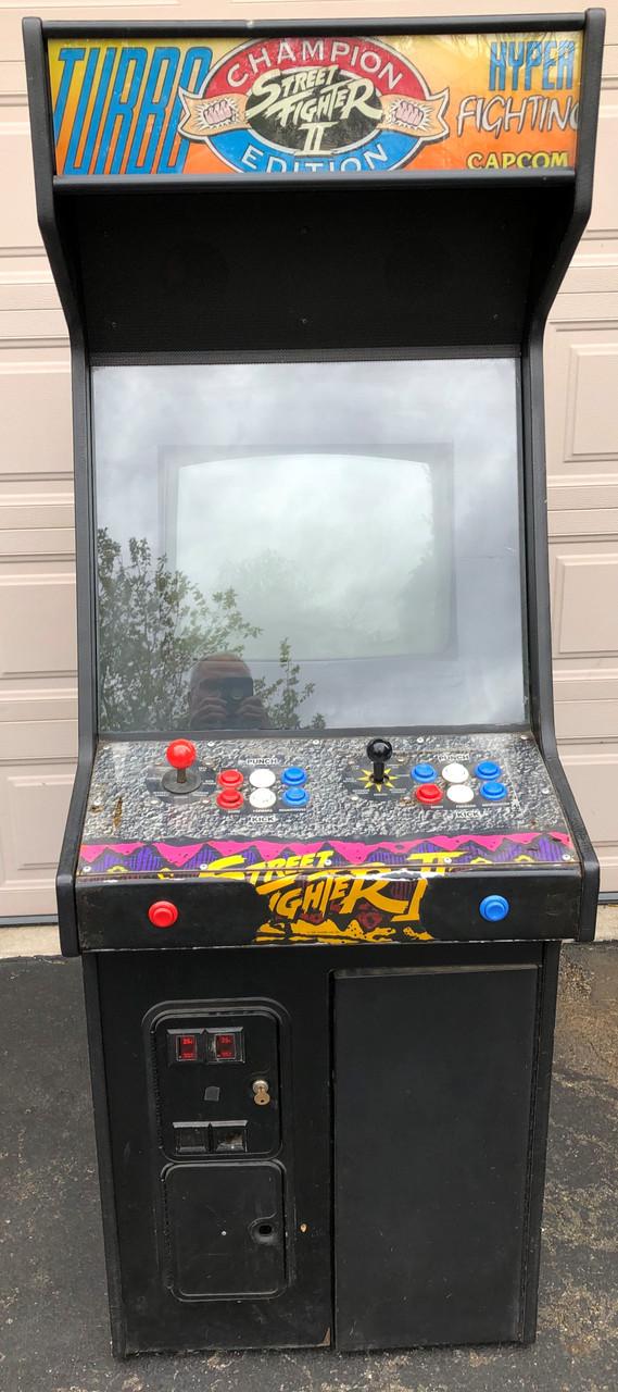 Capcom Street Fighter Ii Hyper Fighting Arcade Game Arcade