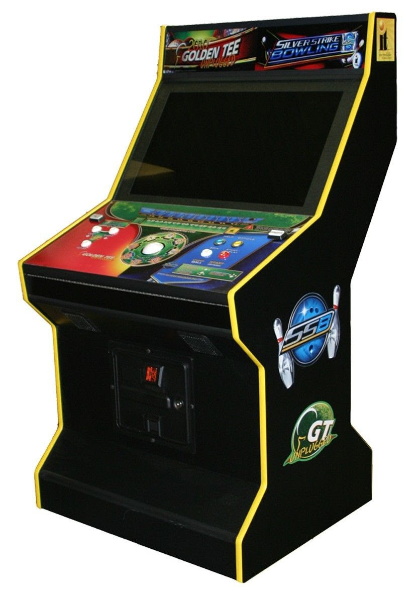 """Combo IT 2019 Golden Tee Unplugged - 32"""" LCD Screen ..."""