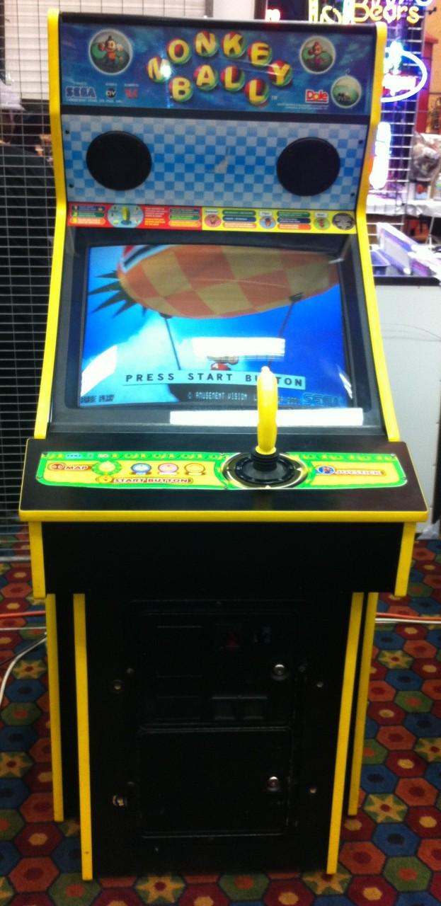 Sega Monkey Ball Arcade Game Arcade Adventures