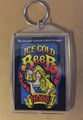 Taito ICE COLD BEER Key Chain Flyer